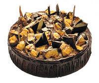 Honeycomb Crunch Cheesecake