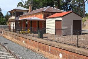 Creswick Railway Station
