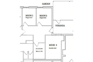 Garden Rooms Single Accommodation - The American Creswick
